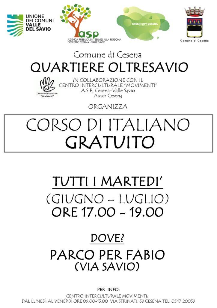Corso di Italiano Gratuito